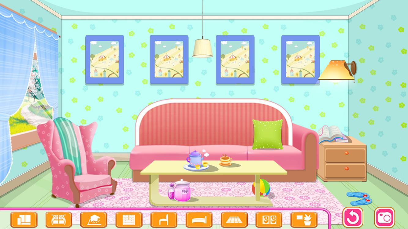 Doll House Luxury Decoration Game