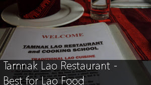 Tamnak Lao Restaurant: Best for Lao Food