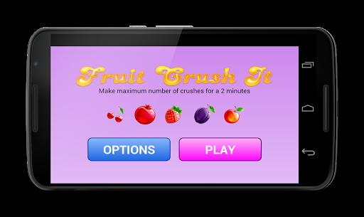 Fruit Crush It