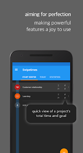 Swipetimes Time Tracker - náhled