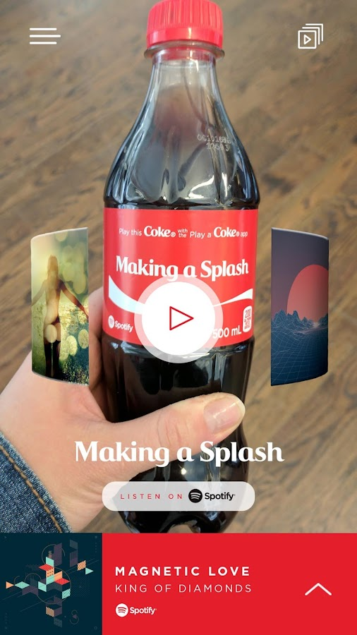 Play a Coke- screenshot