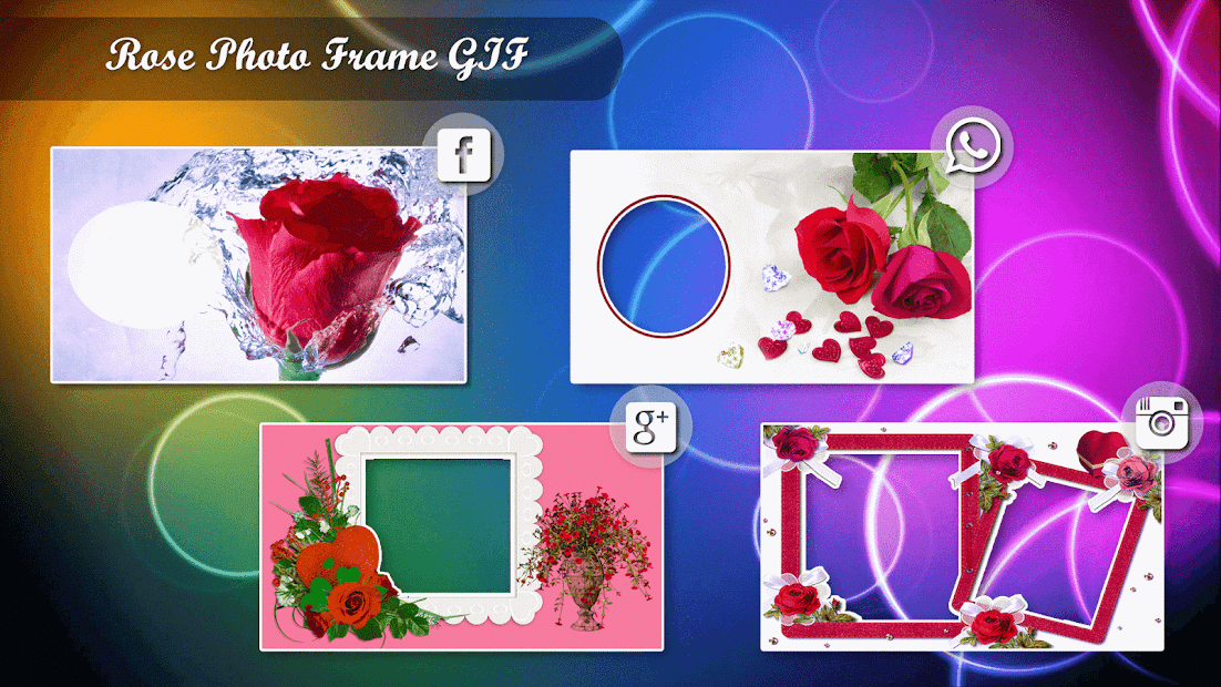 Rose GIF Photo Frame Editor – Apps bei Google Play