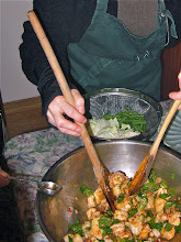 Photo: .... adding fish sauce