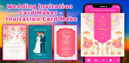 Wedding Invitation Card Maker Card Maker Apk App Free