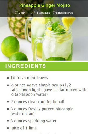 Ginger Drink Recipes screenshot 14