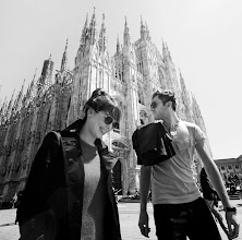 Photo: The Daydream in Milan ahead of their performance for Burberry Eyewear