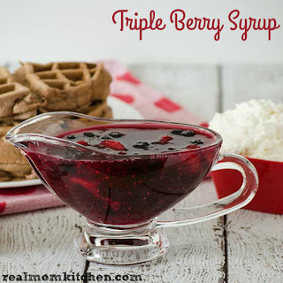 Triple Berry Syrup Recipes