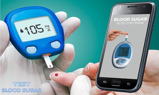 Finger Blood Sugar Test Prank