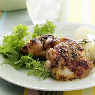 Caper, Anchovy and Rosemary Stuffed Chicken