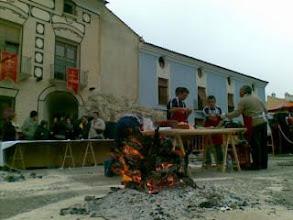 Photo: Aqi regalan sensaciones:  olor a le�a quemada, calor de la lumbre y patatas asadas.