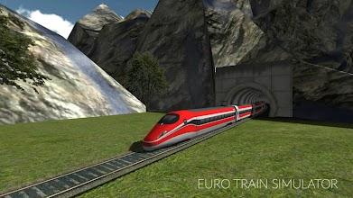 Euro Train Simulator screenshot thumbnail