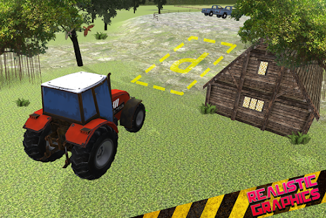 Skutečný traktor Parkování - náhled