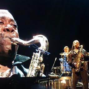 The Big Man by Eason Jordan - People Musicians & Entertainers