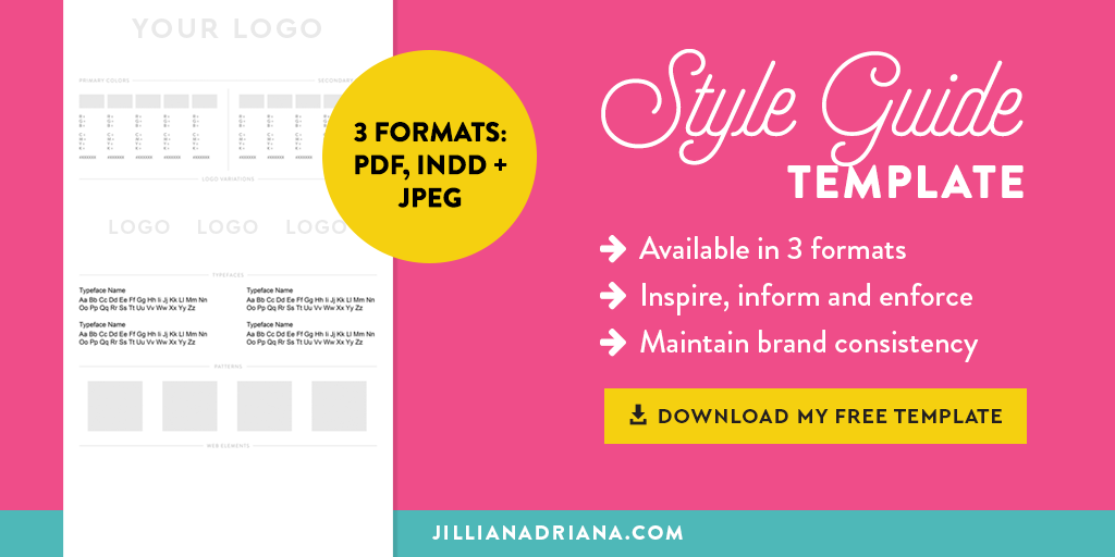 Style Guide 101: What They Are & Why You Need One - Jillian