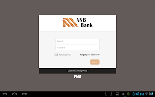 Screenshot of ANB Bank – Mobile Banking