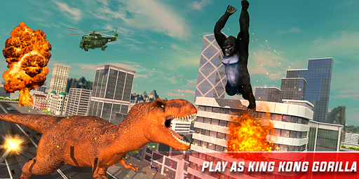 Monster Dino Vs King Kong-City Rampage Simulator 1.0.3 screenshots 2