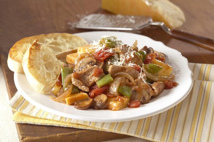 Tuscan Pork Stir-Fry Recipe