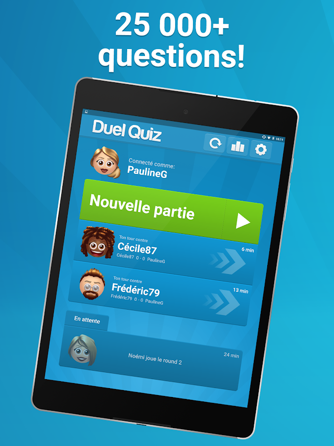 Duel Quiz- screenshot