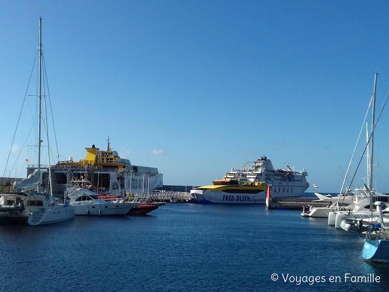 Port de La Gomera