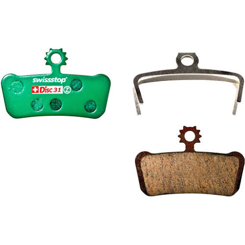 SwissStop Disc 31 Organic Compound Disc Brake Pad Set for SRAM Guide and Elixir Trail