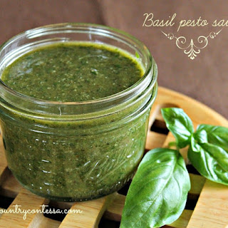 Pesto Sauce With Dried Basil Leaves Recipes.