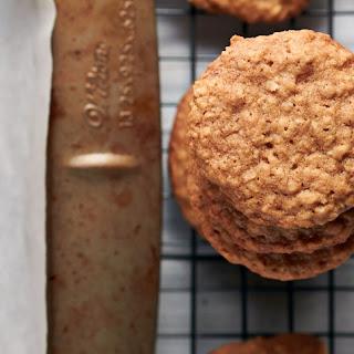 Classic Crispy Oatmeal Cookies.