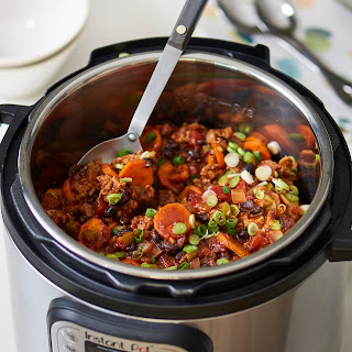 Instant Pot Turkey Chili.