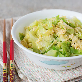 Cabbage with Eggs.