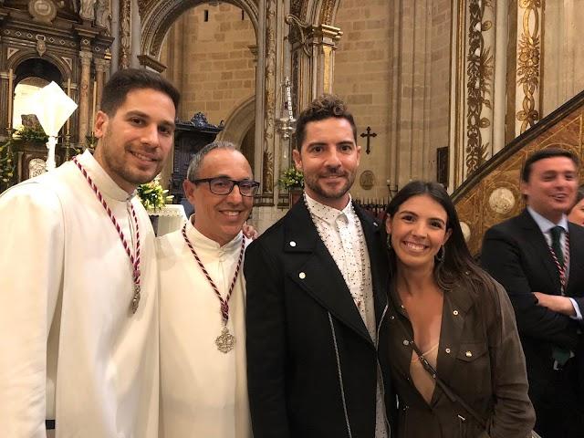 Con la familia Marín.
