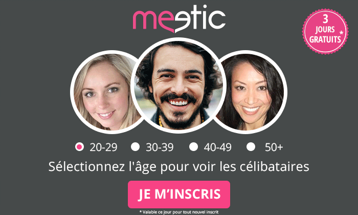Code promo et réduction Meetic Senior