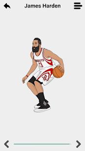 Draw NBA Basketball - náhled