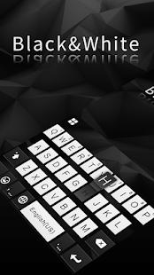 Classic Black Keyboard - náhled