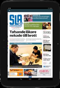 Skaraborgs Allehanda e-tidning - náhled