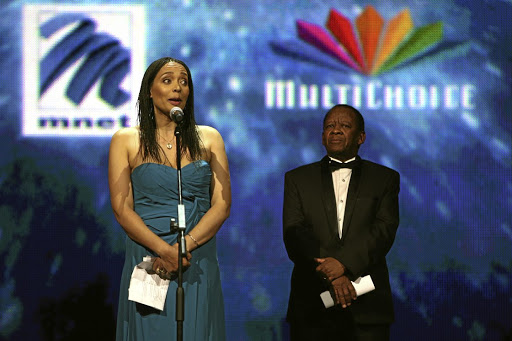 Content creators: M-Net Africa CEO Yolisa Phahle with MultiChoice executive chairman Nolo Letele. Picture: SUNDAY WORLD