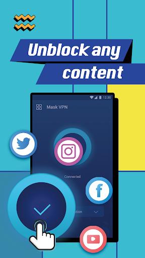 Mask VPN – Unlimited Free & Secure VPN Proxy 1.0.1.002 screenshots 2