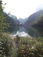 Photo: An alpine lake partway between Canazei & Bassano