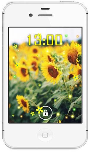 Fields Sunflower livewallpaper
