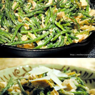 Chicken and Green Bean Casserole.