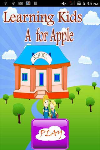 孩子们学习-A苹果
