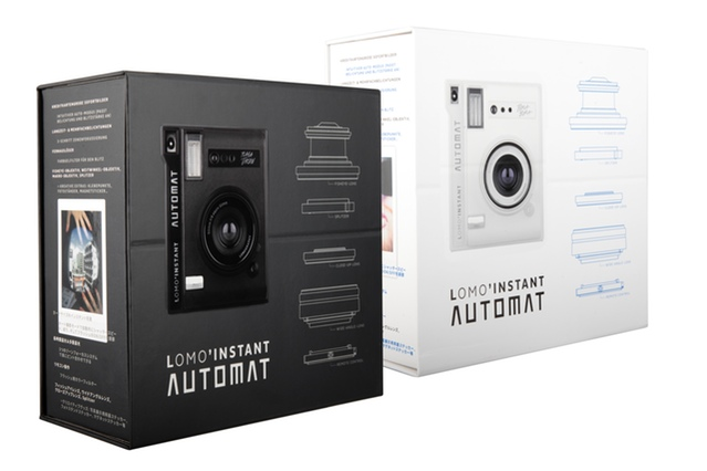 The Lomo'Instant Automat Lens Combo Packaging