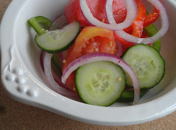 Fire & Ice Tomatoes (sallye) Recipe