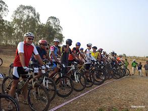 Photo: The start line!