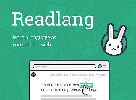 Readlang Web Reader