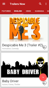 Trailers Now (Movie Trailers)- screenshot thumbnail