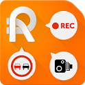 RoadAR dashcam & speed camera icon