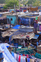 Photo: Dhobi Ghat outdoor laundry