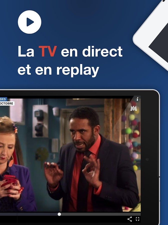 6play tv en direct et replay applications android sur google play. Black Bedroom Furniture Sets. Home Design Ideas