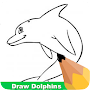 How To Draw Dolphins APK icon