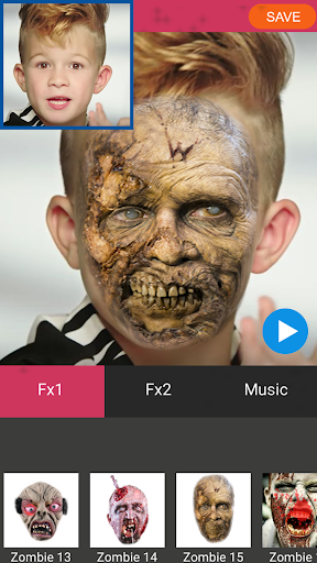 Zombie Booth Video Maker 1.2 screenshots 9