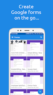 FormsApp for Google Forms Screenshot